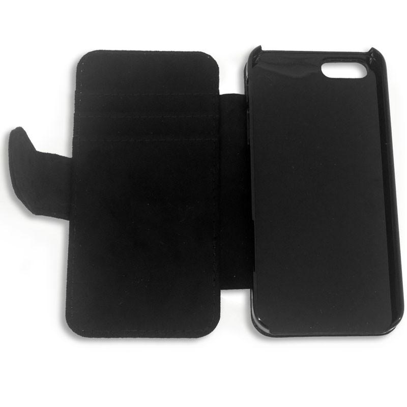 Funda carcasa de tela y simil piel para iphone 5 5s personalizable - Funda de piel para iphone 5 ...