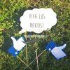 Goma Eva Pack Fiesta privada + mensaje personalizado - 39 piezas