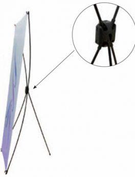 Photocall X-banner 160 x 200 cm + Alfombra Roja + 25 palillos de Atrezzo