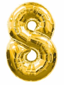 Globo forma nº 8 Oro