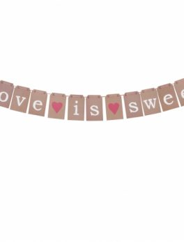 Guirnalda Love is Sweet Rustic 2m