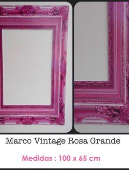 Marco Vintage rosa Grande
