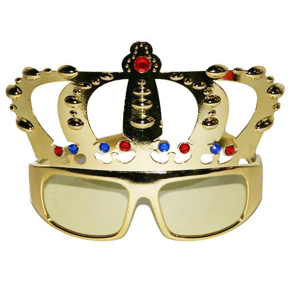 Gafas rey de la fiesta