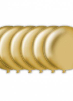 6 Globos Oro 43 cm