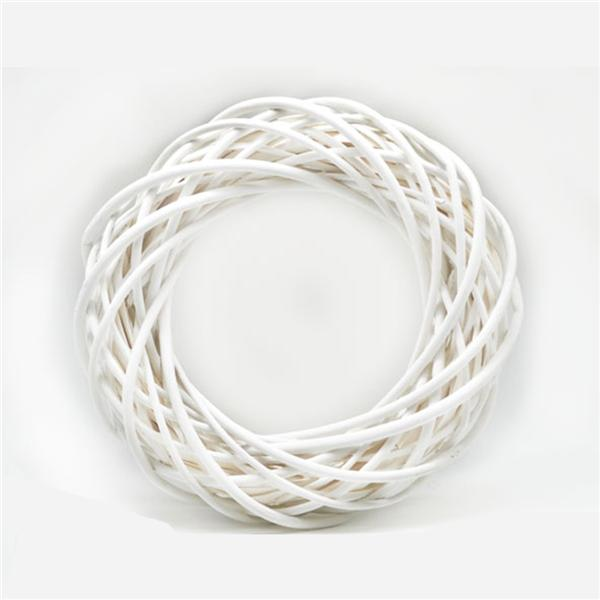 Aro Decoración Blanco 25 cm