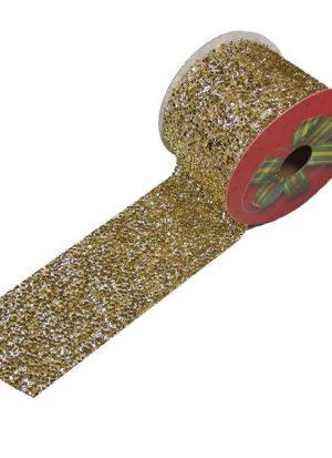 Cinta Brillante Oro 6 cm (2,7m)