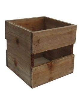 Mini caja madera natural