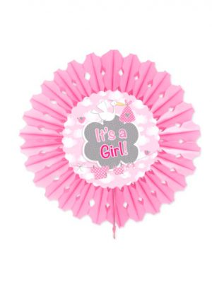 Abanico de papel it's a girl 45 cm (Copiar)