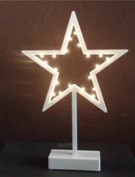 Estrella Blanca Luces
