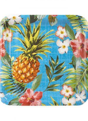 8 platos aloha 23 cm