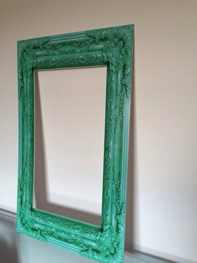 Marco Vintage Verde 70 x 50 cm