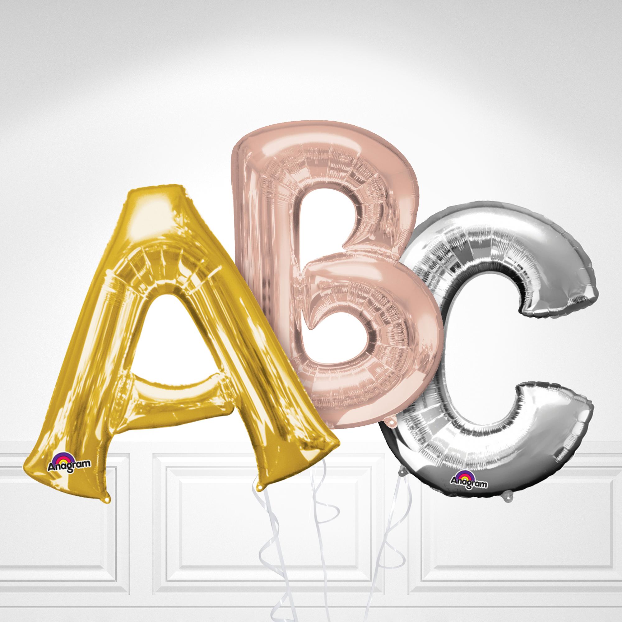 Globos de letras