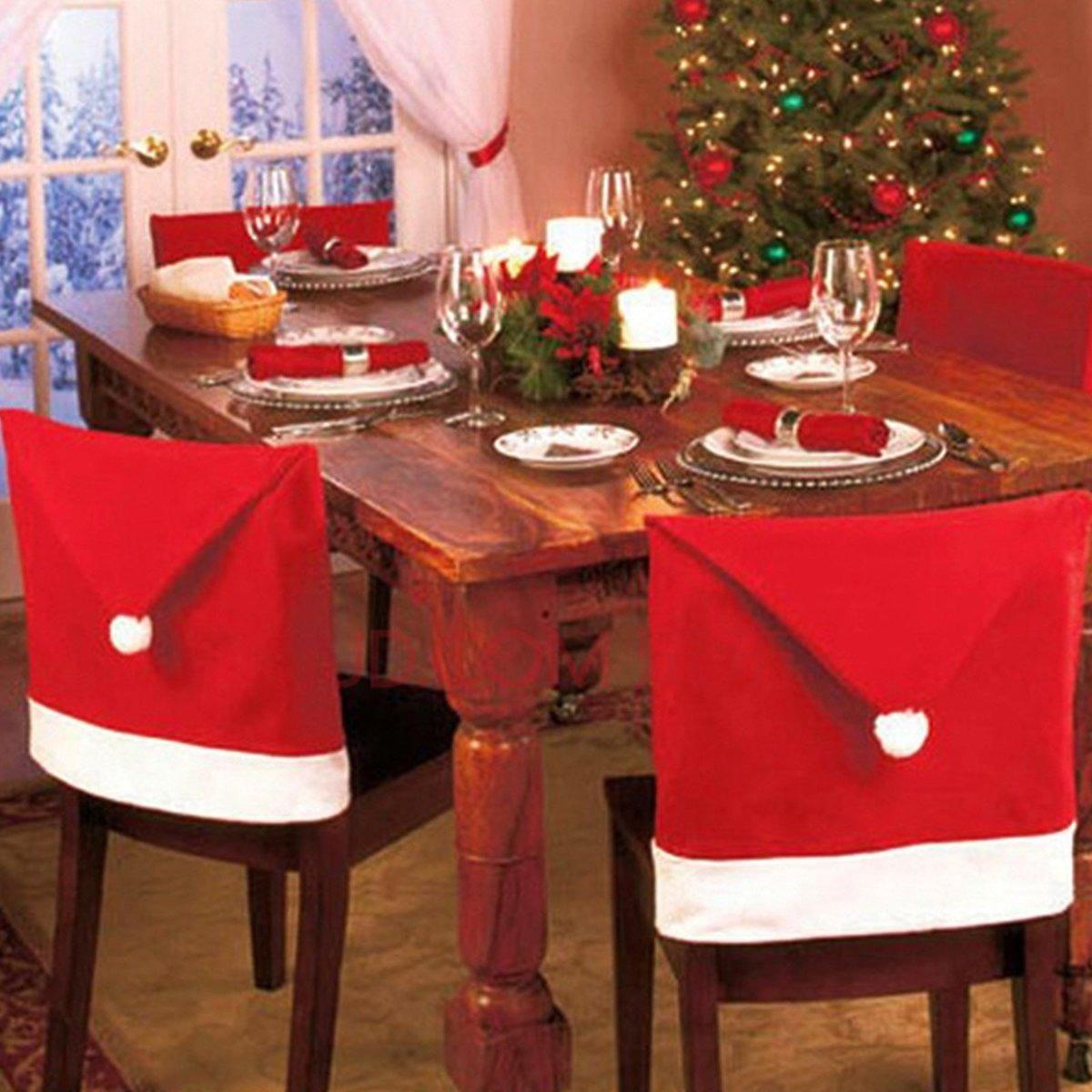 Funda navideña para silla