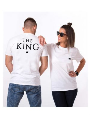 f9811a9f6e619 Pack 2 Camisetas  Queen   King  Personalizadas