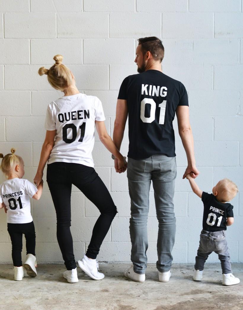 discapacidades estructurales nueva 2019 profesional Pack de 3 camisetas King + Queen + Princess