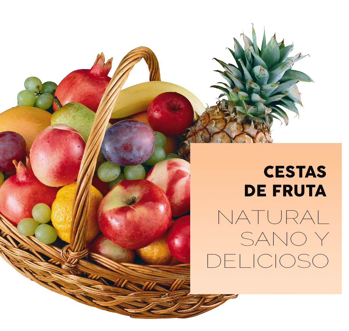 Cestas de fruta para añadir un toque natural y delicioso